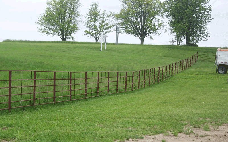 Continuous Fencing Panels Brad S Welding Shop Self