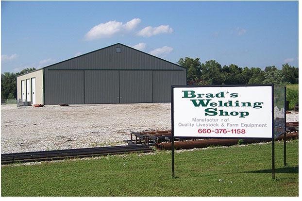 Brad's Welding Shop - Building