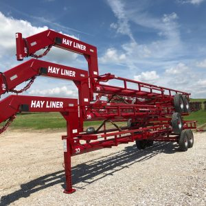 Stack of Hay Line Trailers