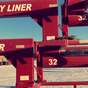32' Hay Liner Trailer Goose Neck